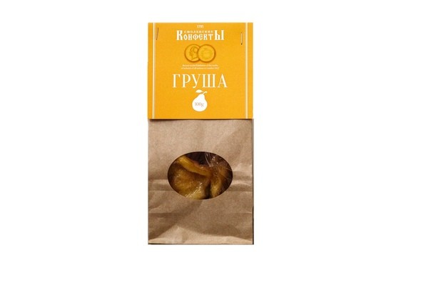 Smolensk confections (pear) kraft bag - фото - 3